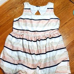 BB Dakota striped baby doll dress. 24